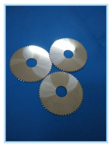High Hardness Tungsten Carbide Saw Blade Disc Cutter for Steel pictures & photos