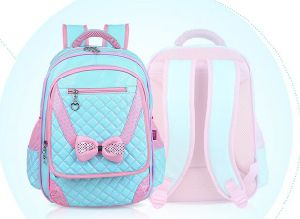 Cute Kroean Girls School Backpack Bags pictures & photos