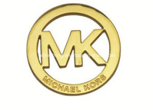 Cutout Mk Logo Round Metal Plate pictures & photos