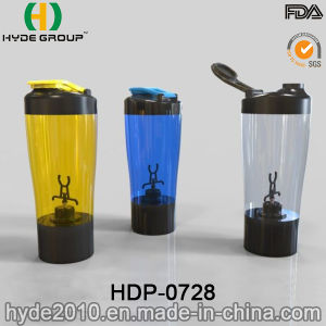 Wholesale 450ml BPA Free Plastic Electric Vortex Shaker Bottle (HDP-0728) pictures & photos
