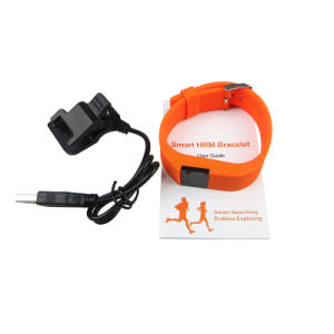Latest Waterproof Sports Smart Bracelet with Heart Rate Monitor (ID100) pictures & photos