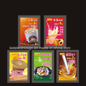 Milk Tea Advertising LED Ultra-Thin Light Box pictures & photos