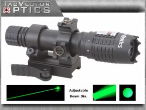 Vector Optics Magnus Green Laser Designator Flashlight Torch Sight for Night Hunting pictures & photos