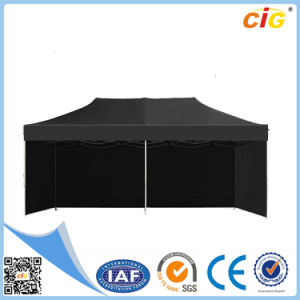Black 3X6 Pop up Folding Tent Canopy pictures & photos
