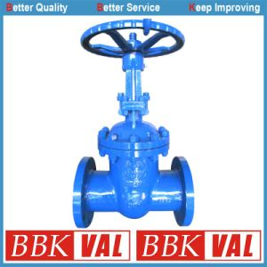 High Pressure Gate Valve Carbon Steel DIN3352 F5 F7 Gearbox Operated pictures & photos