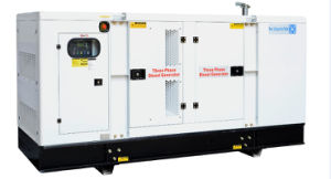 Guangzhou 100kVA/80kw Diesel Genset Soundproof 3/1 Phase ATS Lovol (perkins) Engine Generator
