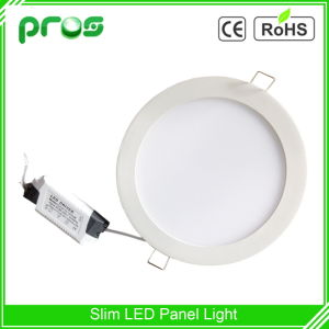 Ultra Thin 6W Recessed Round LED Panel Light pictures & photos