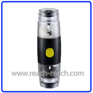 Electric Plastic Kitchen Pepper and Salt Mill (R-6053) pictures & photos