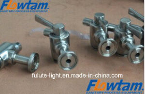 Pjf Stainless Steel Sanitary Beer Valve, Beer Sampling Valve pictures & photos