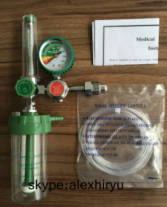 Oxygen Gas Regulator with Pressure Gauge and Flow Meter pictures & photos