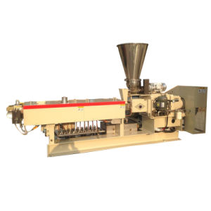 Double Screw Extruder for Plastic Granule Processing pictures & photos