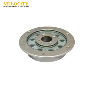 9W Outdoor Stainless Steel IP68 RGB LED Water Decoration Fountain Light