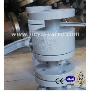 A105 Forged Steel Flange Ball Valve Supplier pictures & photos