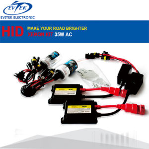 Evitek Best Selling HID Conversion Kit 35W AC with H/L Bixenon Lamp pictures & photos