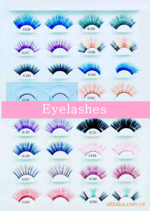 Beautiful Waterproof Paper Colored False Eyelash and Eye-Lash pictures & photos