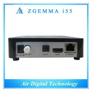 Based Enigma2 Linux Zgemma I55 Digital IPTV Set Top Box pictures & photos