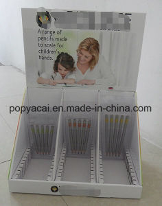 Pencil Custom Cardboard Countertop Display Stand Full Graphics Display Box pictures & photos