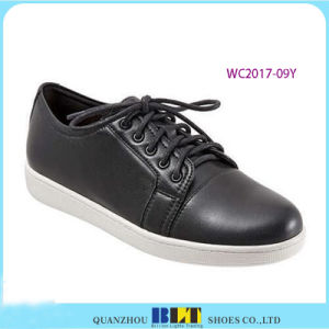 Leather Golf Style Casual Women Shoes pictures & photos