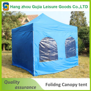 Metal Promotional Folding Tent Folding Gazebo with Waterproof Fabric