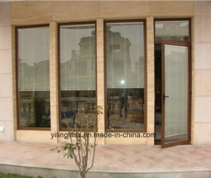 Thermal Break Profile Glazed Aluminum Casement Door pictures & photos