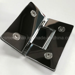 Stainless Steel 135 Degree Glass Clamp Shower Door Hinge (YH206) pictures & photos