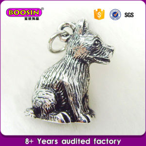 Metal 3D Pendant Charm Wholesale Metal Dog Charms pictures & photos