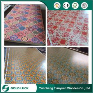 Melamine Glued Paper Overlaid Plywood with All Designs pictures & photos
