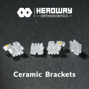 Headway Ceramic Orthodontic Bracket with Ce & SGS pictures & photos