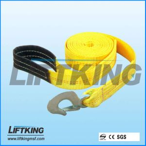 Construction Material Polyester Flat Woven Webbing Sling with Eyes pictures & photos