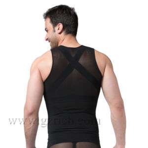 Powerful Mens Body Shaper 300g High Powernet Vest pictures & photos