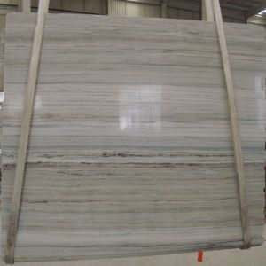 China Wood-Grain White/Beige/Bone Marble Tile/Slab/Worktop/Countertop/Wall Tiles/Floors pictures & photos