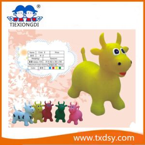 PVC Milk Cow Jumping Toy Inflatable Animal pictures & photos