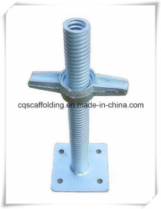 Adjustable Hollow Screw Jack Base for Scafolding System