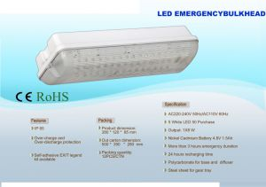 2016 European Standard Hot Sale LED Emergency Light (PR208/LED/M)