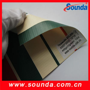 China Factory Price Colored Knife Coated PVC Tarpaulin pictures & photos