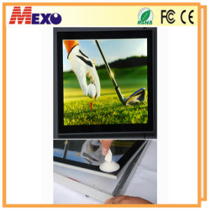 Home Decoration Aluminum Square Picture Photo Frame with LED Lights pictures & photos