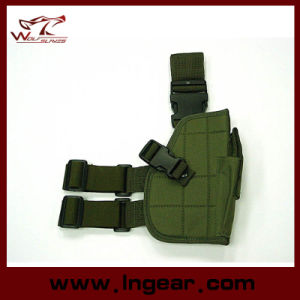 01 Tactical Drop Leg Gun Holster for Military Pistol Holster pictures & photos
