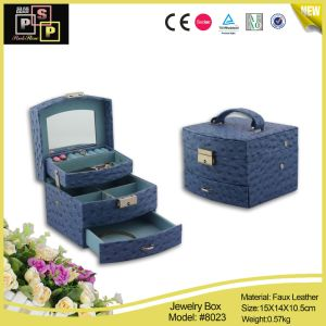 Fashion Luxury Leather Packaging Box for Jewelry Wholesales (8023) pictures & photos
