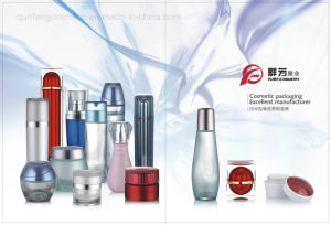 Qf-028 Color Brilliancy Cosmetic Packaging Vacuum Bottle pictures & photos