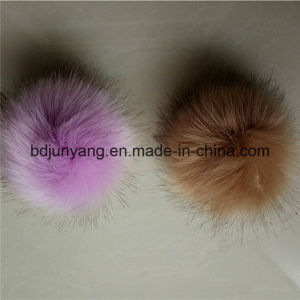 Bulk Gift Fake Fur POM POM Ball Key Ring Accessory pictures & photos