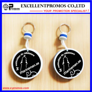 Hot Selling Promotion PU Floater Keychain (EP-K573022) pictures & photos