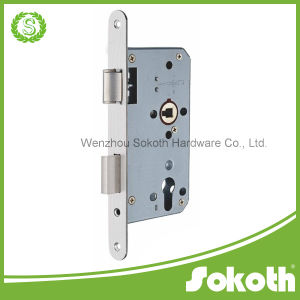 M7255 Three Bolts Lock Body for Wooden Door pictures & photos