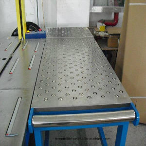 Ball Transfer Table for Gravity Pneumatic Conveying System