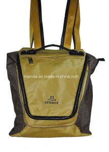 Latest Nylon with Leather Backpack (BS13627)