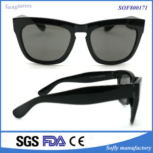New Unisex Mirror Plastic Polarized Fashion Sunglasses pictures & photos