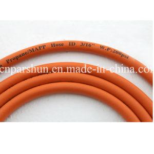 Fiber Braid Oil Resistant Rubber Flexible Gas Hose pictures & photos