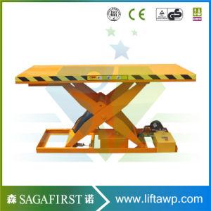 Fixed Type Hydraulic Scissor Cargo Lift pictures & photos