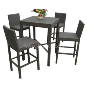 Commercial Garden Furniture Rattan Wicker Bar Sets (BF-1006) pictures & photos