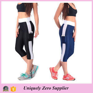 2015 Hot Sale Women′s Running Capri Tights Fitness Leggings (50116) pictures & photos