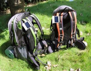 Compact Mini Portable Solar Power Lamp USB Rechargeable Clip Light pictures & photos